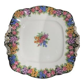 Paragon Vintage English Tea Garden Serving Plate For Sale