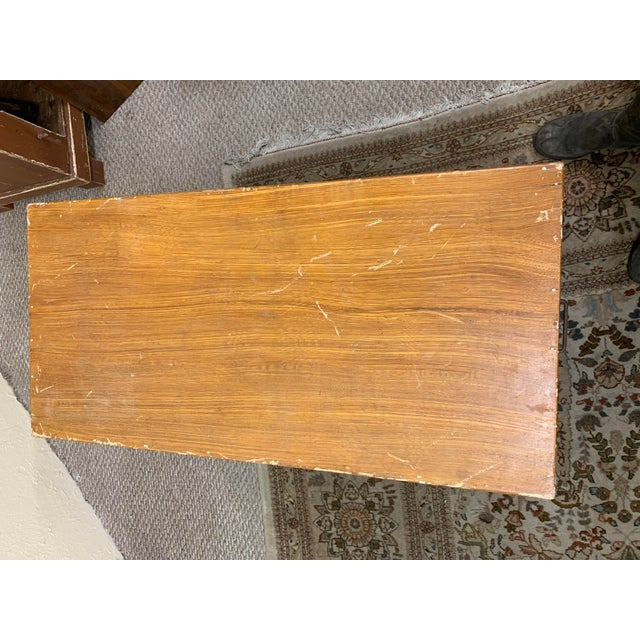1920s Art Deco Pine Trunk For Sale - Image 10 of 13