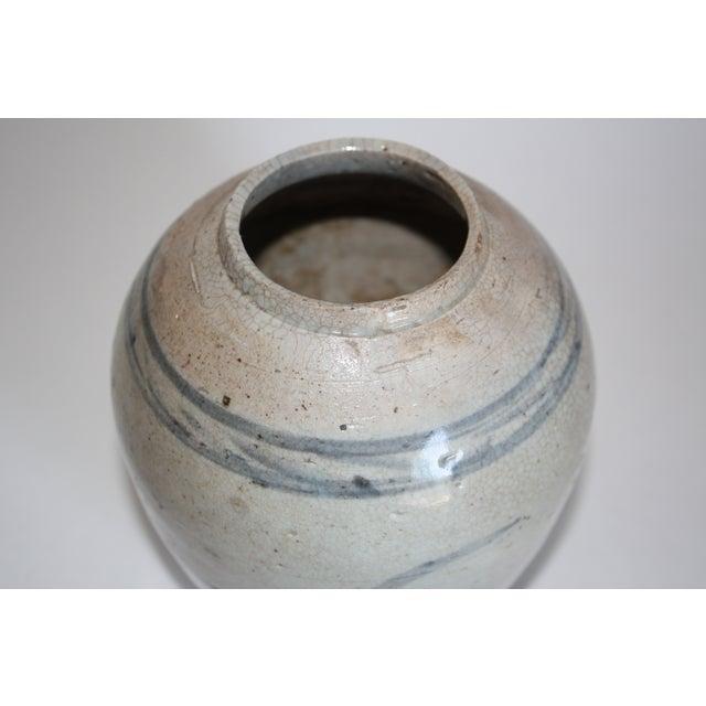 18th C. Chinese Stoneware Ginger Jar - Image 4 of 6