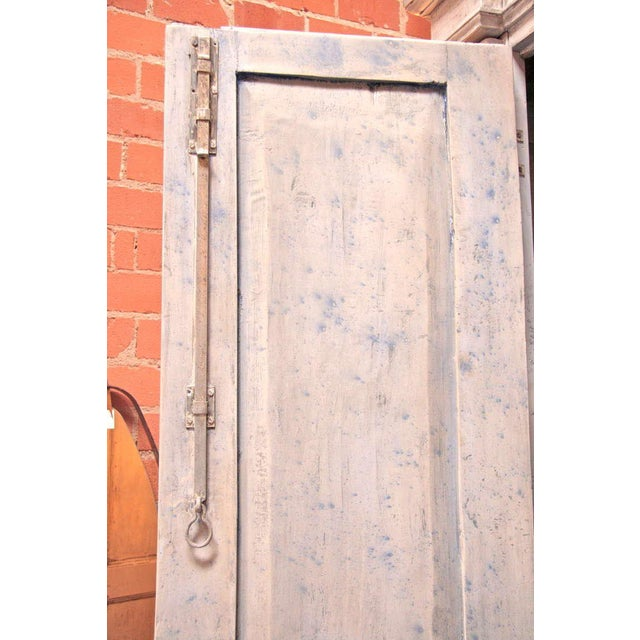 Early 18th Century Italian 18th C. Oversized Distressed Armoire For Sale - Image 5 of 11