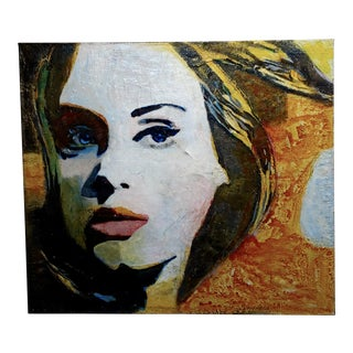 Sonia Gold - Portrait of Adele - Beautiful Oil Painting For Sale