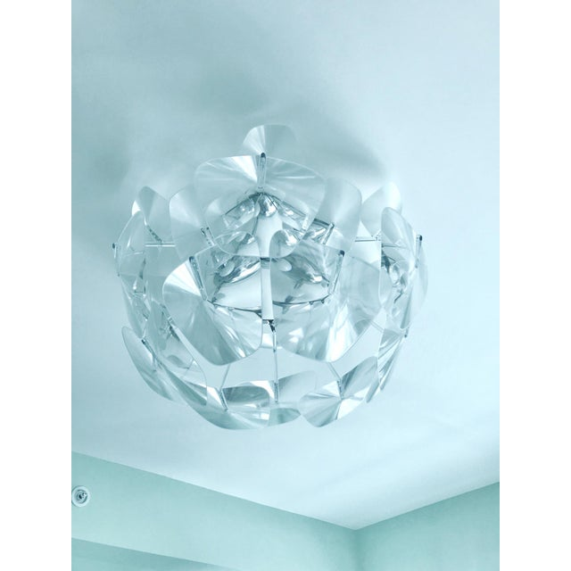 Hope Modernist Ceiling Light With Reflective Prisms by Luceplan, Italy 2018 For Sale In Miami - Image 6 of 13