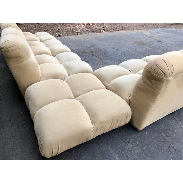 1970s Vintaeg Mario Bellini Camaleonda Style Modular Sofa For Sale - Image 10 of 13