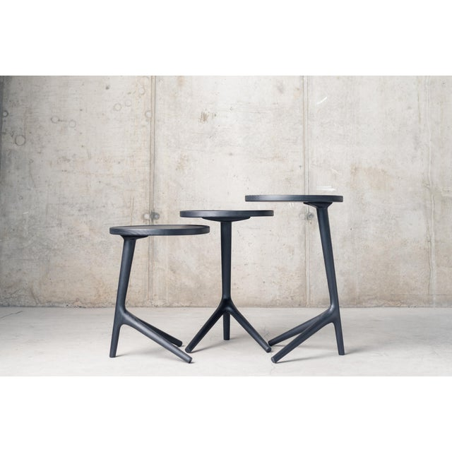 Contemporary Tripod Nesting End Tables - Set of 3 For Sale - Image 13 of 13