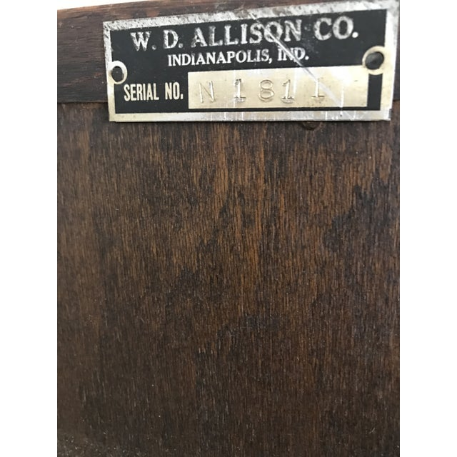 W.D. Allison Medical Cabinet, 1930s For Sale In Chicago - Image 6 of 7
