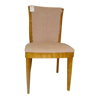 Vintage Mid Century Heywood Wakefield Style Single Dining Chair For Sale