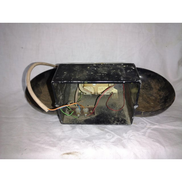 Vintage Industrial Salvage Gte Telephone Bell Alarm For Sale - Image 4 of 9