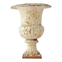 Antique Urn Cast Iron Planter