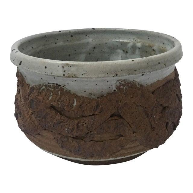 Henderson Brutalist Round Planter Bowl - Image 1 of 6