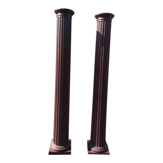"Pair Columns or Pillars 99"" For Sale"