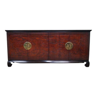 1980s Asian Modern Drexel Heritage Connoisseur Collection Credenza For Sale