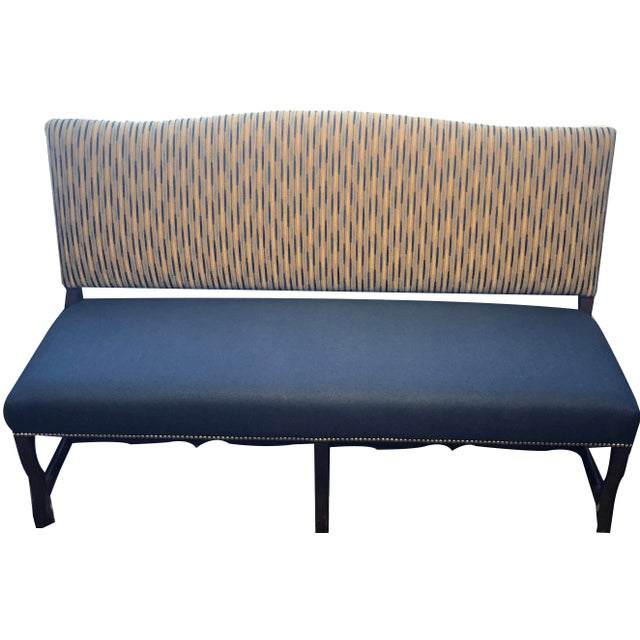 Traditional Banquette With Nails For Sale - Image 9 of 9