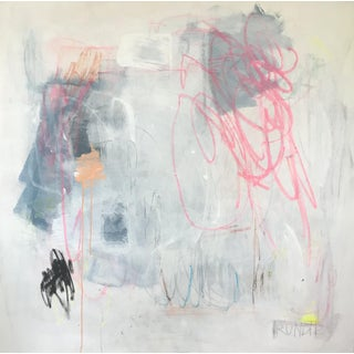 """Sarah Trundle, """"Stuff"""", Contemporary Abstract Painting For Sale"""