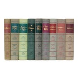 Image of Mid 20th Century The Viking Press Portable Library Book Set - Set of 9 For Sale