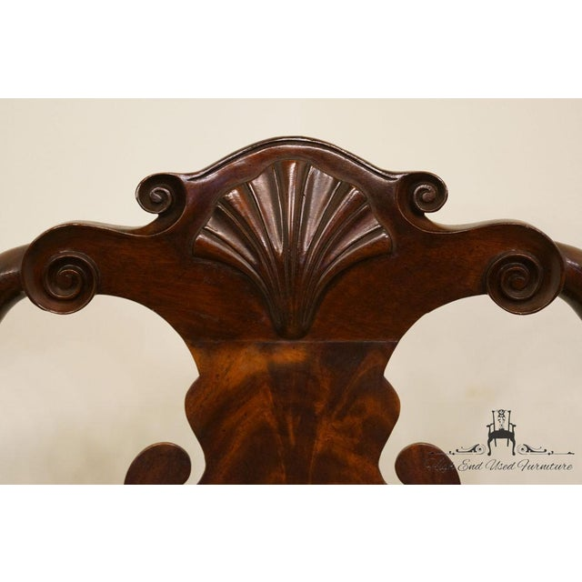 Stickley Queen Anne Splatback Mahogany Dining Side Chair For Sale In Kansas City - Image 6 of 13