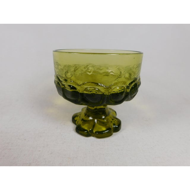 Franciscan Green Madeira Coupes - Set of 6 - Image 4 of 5
