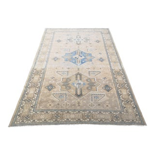 1950s Vintage Hand-Knotted Azerbaijan Derbent Rug For Sale