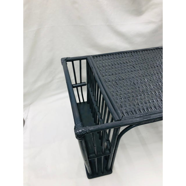 English Mid Century Bamboo Bed Serving Tray For Sale - Image 3 of 8