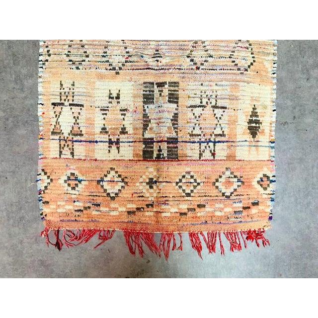 Islamic Vintage Berber Handmade Rug- 2′9″ × 4′1″ For Sale - Image 3 of 11