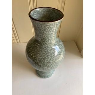 Large Crackle Design Pottery Vase Preview