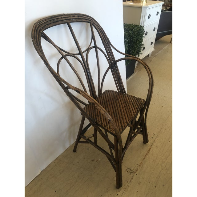 Antique Rustic Adirondack Twig Chair For Sale - Image 13 of 13