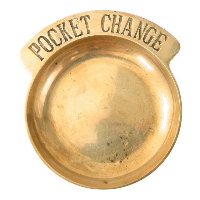 Brass Pocket Change Tray - Image 1 of 7