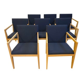 Ofs Balance Arm Chairs - Set of 8 For Sale