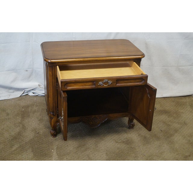 Karges Louis XV-Style Nightstand - Image 5 of 10