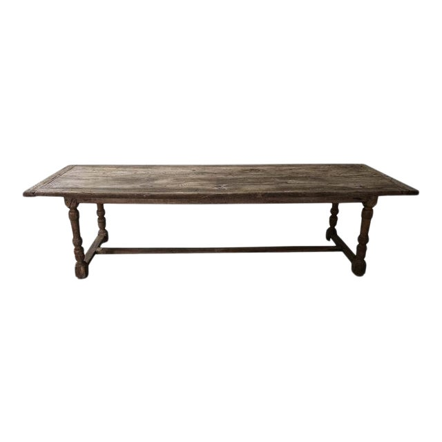 Antique Oak Dining Table For Sale