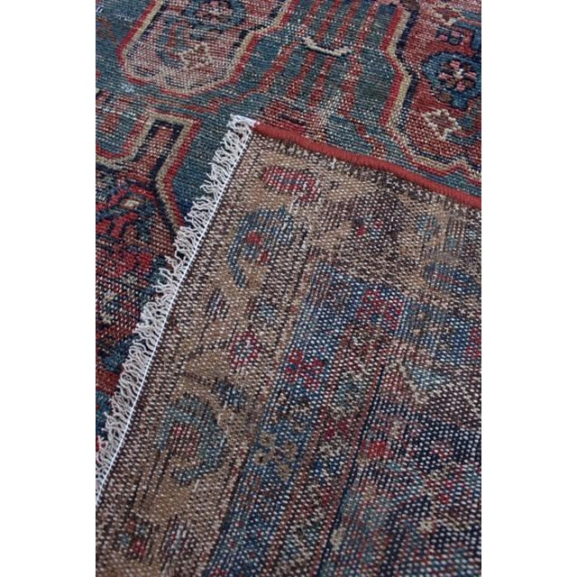 """Antique Persian Rug - 3'6"""" x 6'2"""" - Image 8 of 8"""