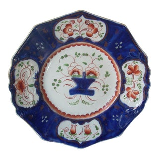 Gaudy Welsh Serving Plate For Sale