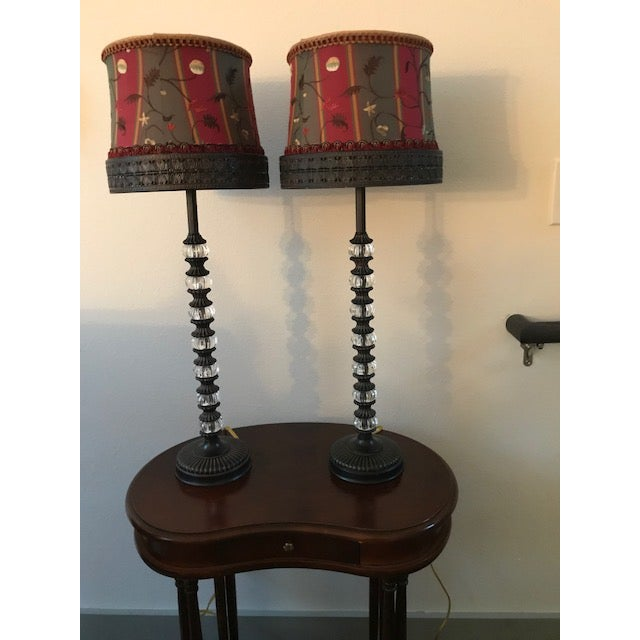 Tyndale Buffet Lamps - a Pair - Image 4 of 4