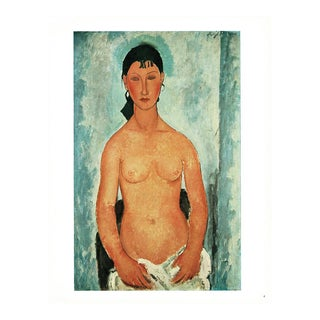 "1940s Amedeo Modigliani ""Elvire"" Swiss Plate For Sale"