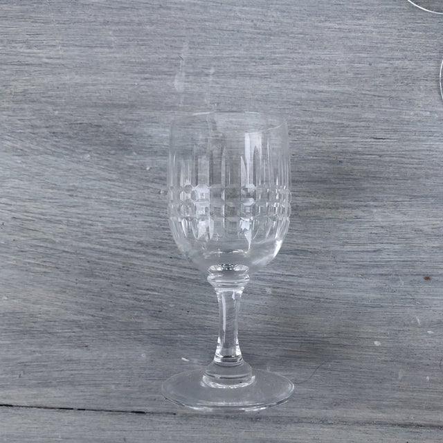 1970s Hand Cut Vintage Holiday Cordial Glasses a Set of 11 For Sale - Image 5 of 7