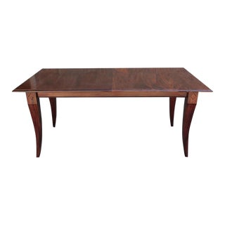 Mahogany Extension Dining Table For Sale