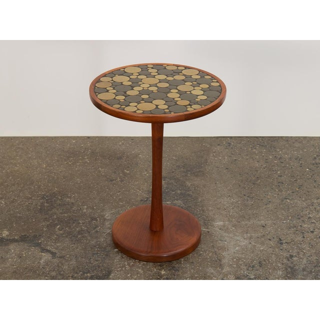 1960s Martz Coin Tile Side Table For Sale - Image 11 of 11
