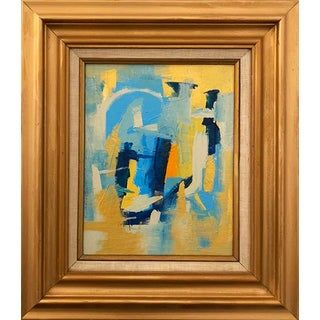 Abstract Original Framed Painting