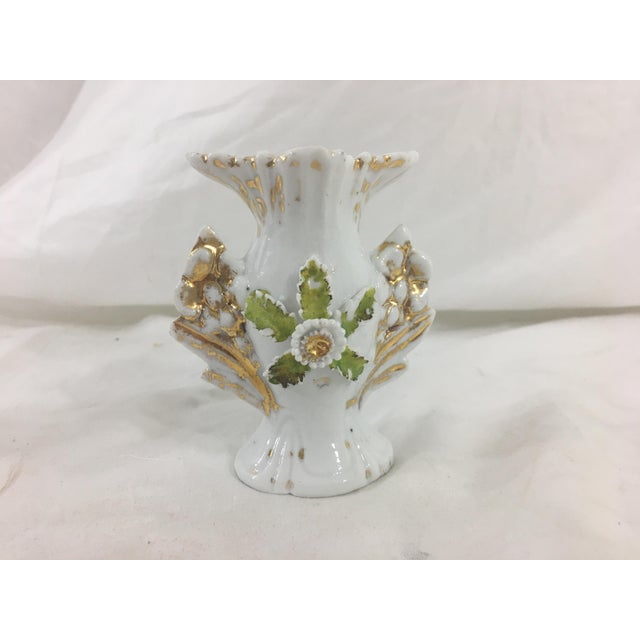 Late 19th Century Miniature Old Paris Vases - a Pair For Sale - Image 5 of 8