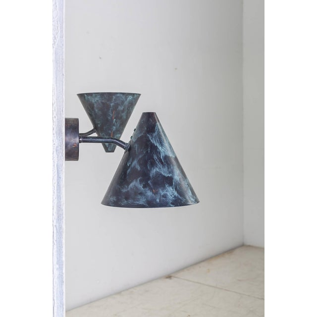 Mid-Century Modern Pair of Hans-Agne Jakobsson Tratten Sconces, Sweden, 1960s For Sale - Image 3 of 5