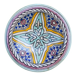 Andalusian Ceramic Wall Plate For Sale