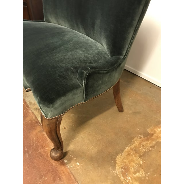 Vintage French Upholstered Settee - Image 3 of 8