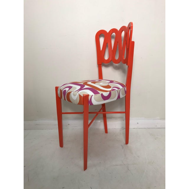 Newly Lacquered Dining Chairs - Set of 5 For Sale In West Palm - Image 6 of 8