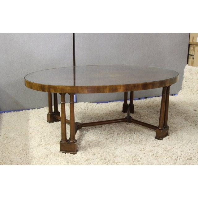 Vintage Wood Coffee Table - Image 2 of 5