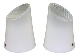Image of Milk Glass Table Lamps