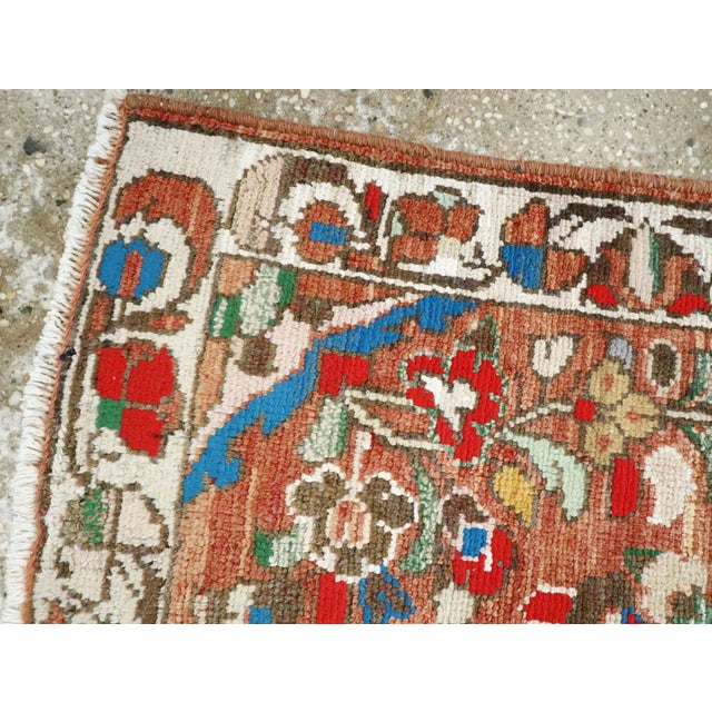 "Mid 20th Century Vintage Persian Hamadan Rug - Size: 2' 1"" X 3' 8"" For Sale - Image 5 of 9"