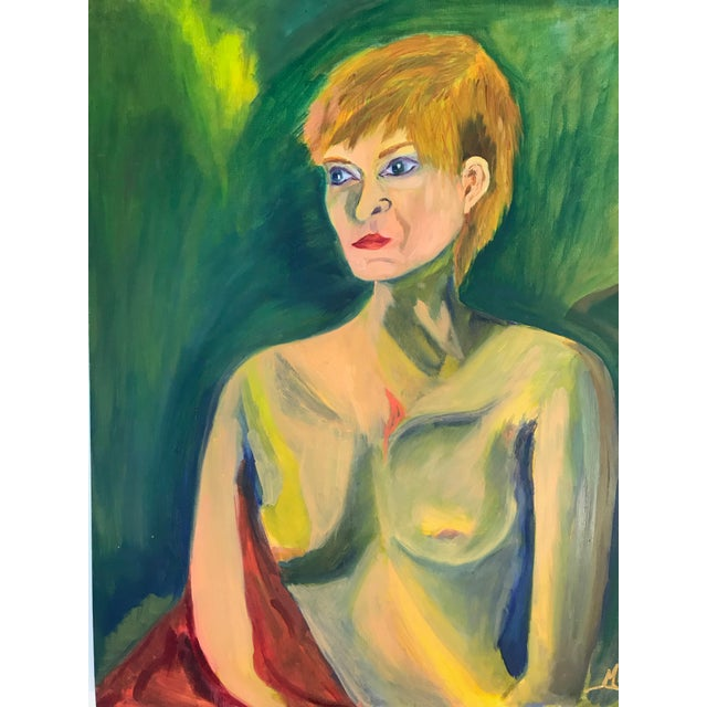 Contemporary Nude Woman Oil Painting For Sale - Image 10 of 11