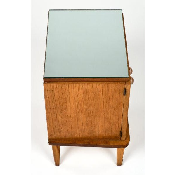 Brass French Mid-Century Modern Side Tables - a pair For Sale - Image 7 of 10