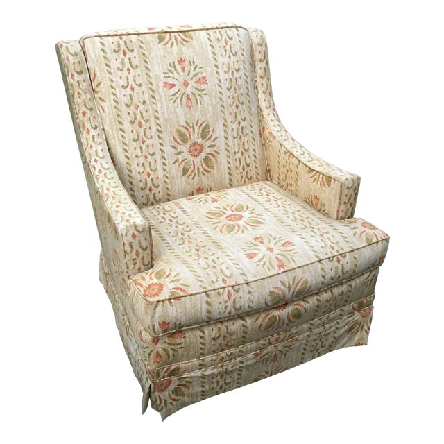 Clyde Pearson Vintage Swivel Chair For Sale
