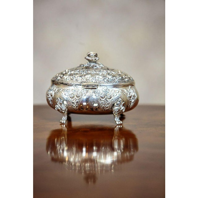 Mid 20th Century Silver Sugar Bowl For Sale - Image 6 of 9
