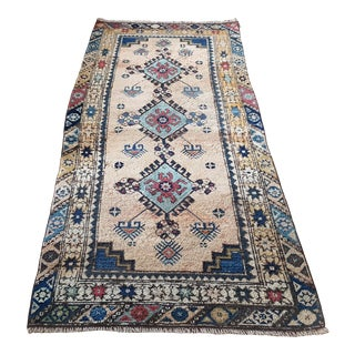 1960s Turkish Tribal Handmade Anatolian Runner-3′3″ × 7′9″ For Sale
